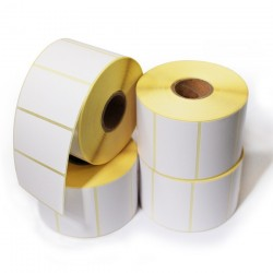 Etiquettes Papier Velin